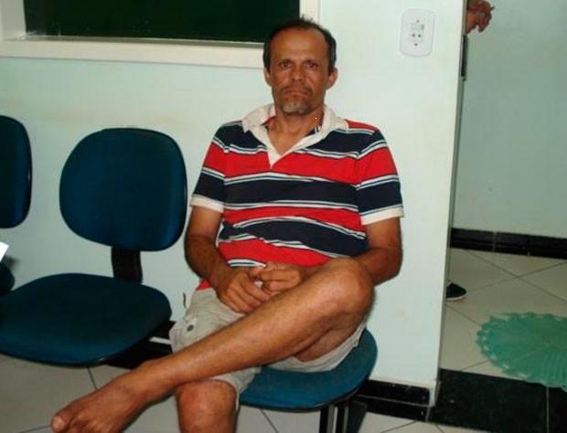 Alcivan Moura foi detido no Paraná (Foto: Cedida/PRF)