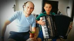 João Pedro Locatelli The Voice Kids (Foto: Arquivo pessoal)