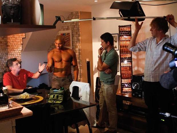 Antonio Firmino participou do piloto do seriado 'Os homens querem casar e as mulheres querem sexo'. (Foto: Rafael Gringo / Divulgação )