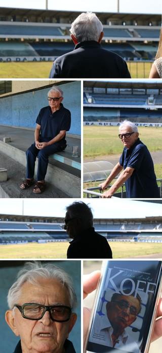montagem moisaco Fábio Koff Grêmio (Foto: Fotos de Eduardo Moura/Globoesporte.com)