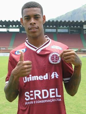 Paulo Vitor, atacante da Desportiva Ferroviária (Foto: Henrique Montovanelli/Desportiva Ferroviária)