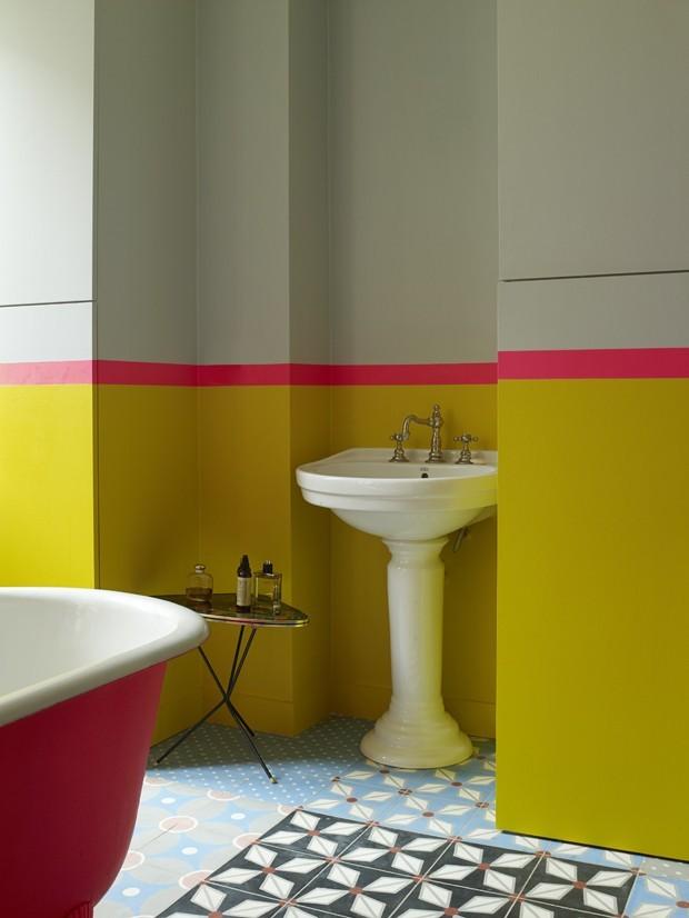 Top 10 banheiros com ladrilhos hidráulicos (Foto: divulgação)