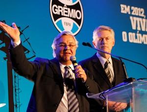 Paulo Odone, presidente do Grêmio (Foto: Diego Guichard / GLOBOESPORTE.COM)