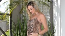 Vivian Padovan, apresentadora do Fronteira do Brasil, está grávida (Marketing TV Fronteira)