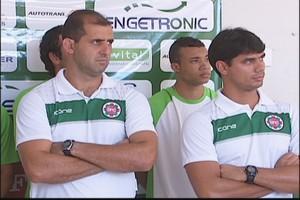 Rodrigo Posso, ídolo do Tigre será o novo preparador de goleiros (Foto: Reprodução / Inter Tv dos Vales )