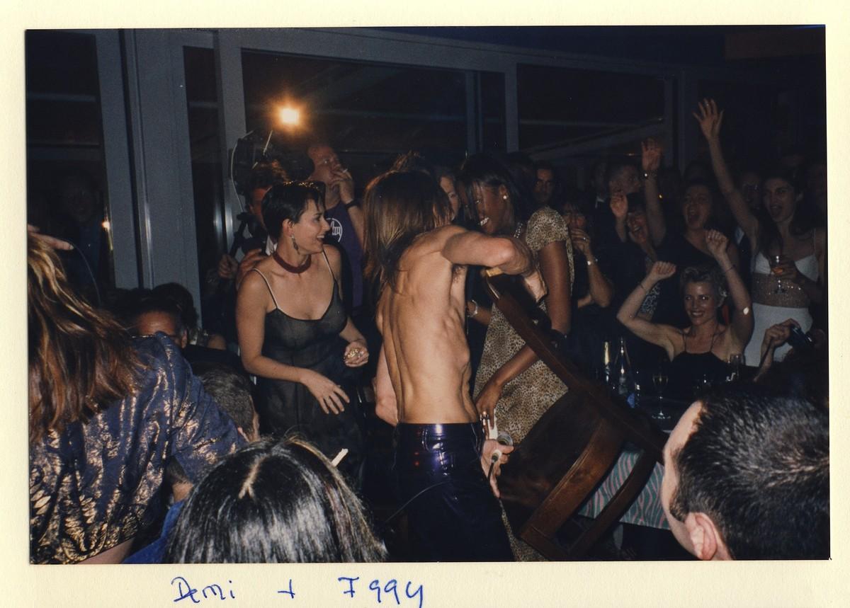 Iggy Pop e Demi Moore. (Foto: Divulgação)