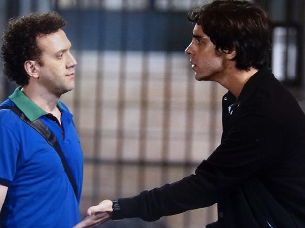 Ernesto fica indignado com decisão (Foto: Geração Brasil / TV Globo)