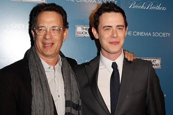 Tom Hanks e Colin Hanks (Foto: Getty Images)