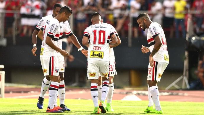 São Paulo x Santo André (Foto: Marcos Ribolli)