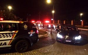 Chegada Comitiva com dinheiro Hotel de Gana (Foto: Daniela Ramalho / TV Globo)