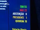 Todos os senadores de Sergipe votaram a favor do impeachment