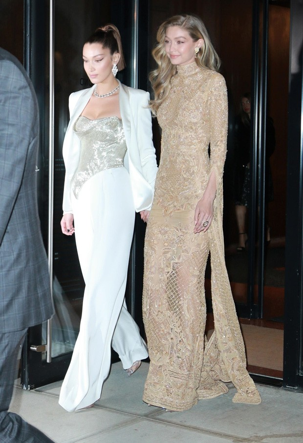 As irmãs Bella Hadid e Gigi Hadid (Foto: BackGrid)