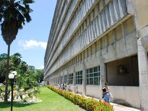 Hospital Universitário é referência de atendimento (Foto: Rizemberg Felipe/Jornal da Paraíba)