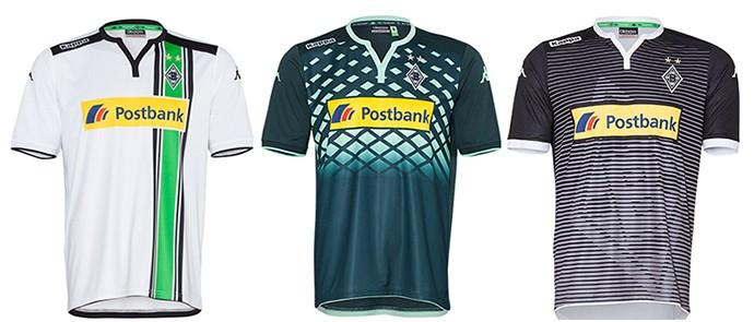 Camisas Champions Gladbach