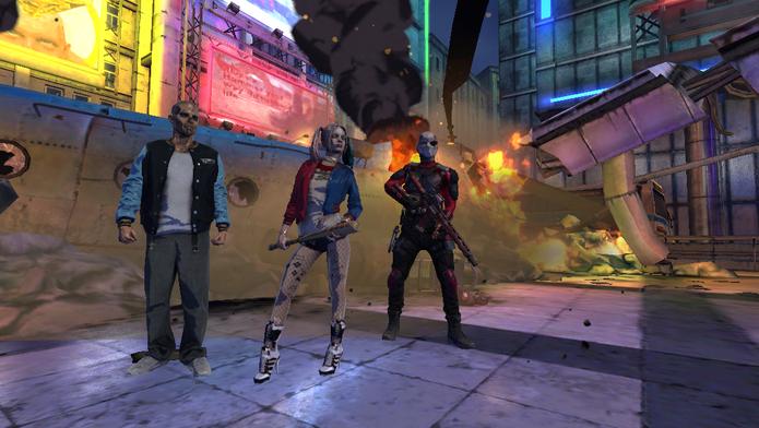 Conheça os personagens e o jogo oficial do Esquadrão Suicida (Foto: Reprodução/Felipe Vinha)