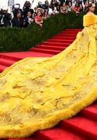 Vestido de Rihanna no baile do MET demorou dois anos para ficar pronto