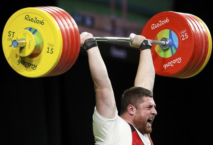Lasha Talakhadze ouro levantamento de peso Rio 2016 (Foto: Reuters)