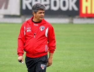 Ney Franco no treino do São Paulo (Foto: Luiz Pires / VIPCOMM)