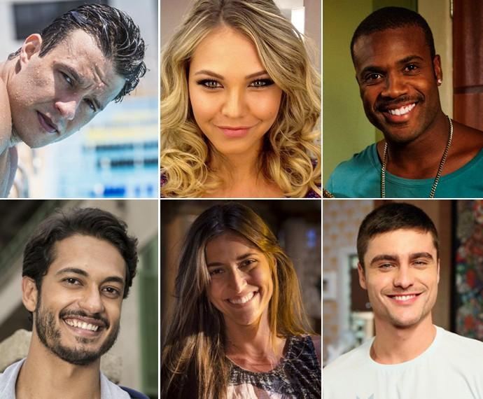 Conheça o time do 'reality' 'Desafiados do Caldeirão' (Foto: Globo)