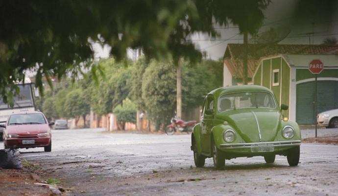 Conceição comprou o fusca 0km e foi a única dona do automóvel  (Foto: Divulgação | Tô Indo)