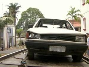 Motorista se entregou na Polícia Civil um dia após o acidente em Piracicaba (Foto: Arquivo/EPTV)