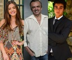 Giovanna Lancellotti, José Dumont e Gabriel Contente   TV e Divulgação