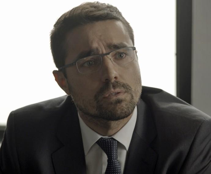 Faustini diz que encontrou documentos da facção (Foto: TV Globo)