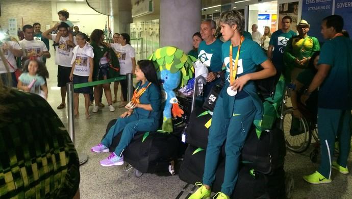 Joana Neves Thalita Simplício Rio 2016 (Foto: Luiz Henrique/GloboEsporte.com)