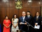 Sandra Braga (PMDB) toma posse como senadora pelo Amazonas