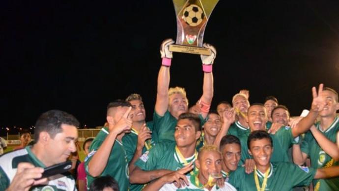 Assu campeão segunda divisão RN (Foto: Divulgação/Prefeitura do Assú)