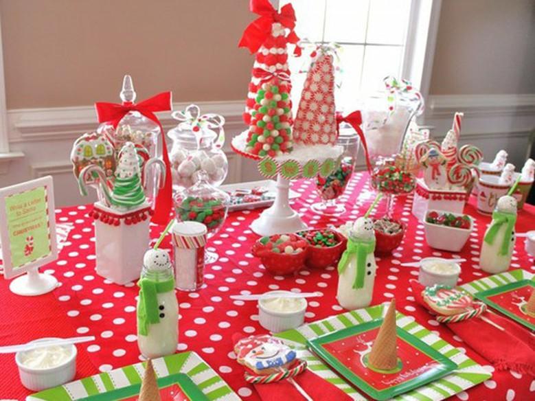 Sugest es de como decorar a mesa de natal guia de fim de - Como adornar mesa de navidad ...