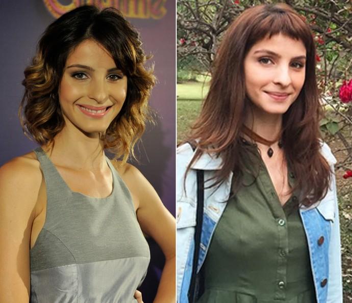 Antes e depois de Giselle Batista: em 'Cheias de Charme' e nos dias de hoje (Foto: Renato Rocha Miranda / TV Globo / Arquivo Pessoal)
