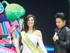 Suzy Cortez, Miss Bumbum 2015, leva confere de apresentador de TV