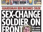 Soldada transgênera se torna 1ª mulher a servir na linha de frente do Exército britânico