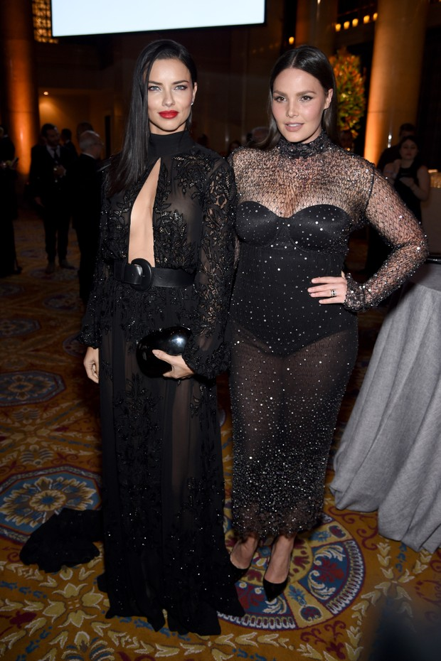 Adriana Lima e Candice Huffine (Foto: Getty Images)