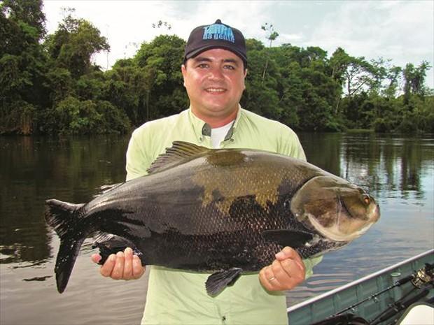 Vive em rios e lagos de várzeas (Foto: Carlos Alberto Coutinho / TG)