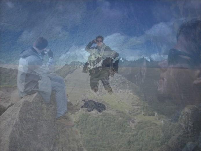 Exemplo de foto com efeito de dupla exposição (Foto: Daniel Ribeiro/TechTudo)