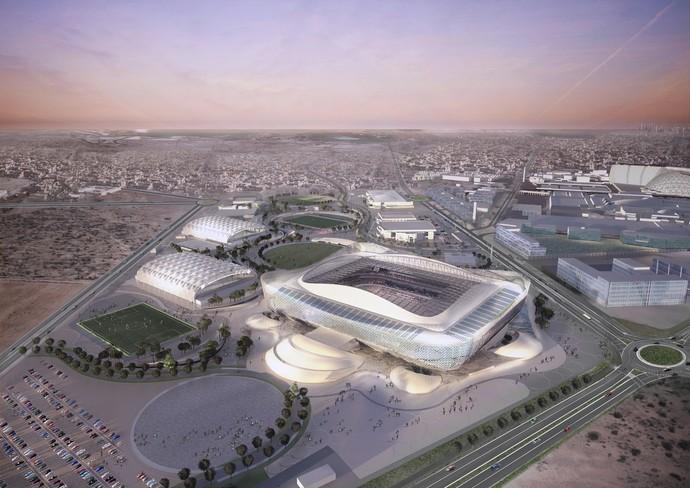 Estádio Al Rayyan Catar (Foto: Divulgação)