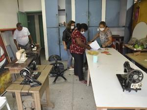 Comissão faz cadastramento de bens em órgãos da Func (Foto: Divulgação/Secom)