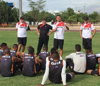 Vitória; treino; Vagner Mancini; Roraima (Foto: Divulgação/E.C. Vitória)