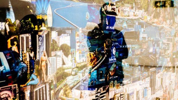 """Sombra sobre a arte - """"Rio de Janeiro - Cartão Postal"""", de 2013. Obra de Vik Muniz apreendida na operação da PF (Foto: Marcio Pimenta Foto Series)"""