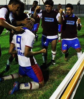 Gladysson, atacante do Piauí  (Foto: Josiel Martins )