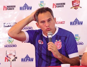 Bira Lopes - técnico do Potiguar (Foto: Wilson Moreno/Gazeta do Oeste)
