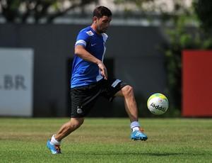 Eugenio Mena Santos (Foto: Ivan Storti/Divulgação Santos FC)