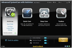 Advanced SystemCare com Antivirus