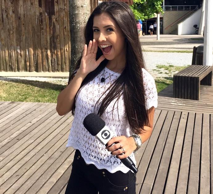 Thalita Meneghim ficou dois anos na RBS TV  (Foto: RBS TV/Divulgação )