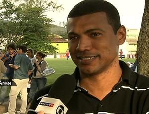 Júnior Baiano, no Tá na Área (Foto: Reprodução SporTV)