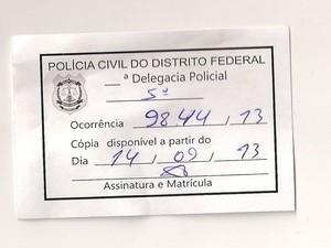 B.O. ficará pronto neste sábado (14) e será enviado ao Maranhão na terça-feira (17) (Foto: Laíse Frazão)