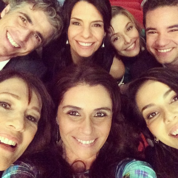 Giovanna Antonelli e elenco (Foto: Instagram / Reprodução)