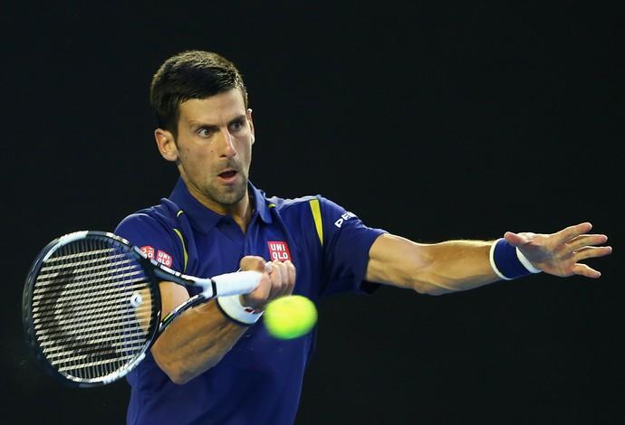 Novak Djokovic - quartas de final do Aberto da Australia (Foto: Getty Images)